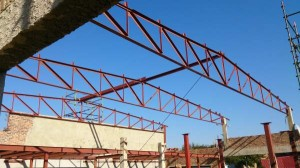 Steel trusses and Mezzanine floor @ SupaQuick