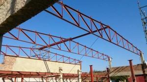 Steel trusses and Mezzanine floor @ SupaQuick
