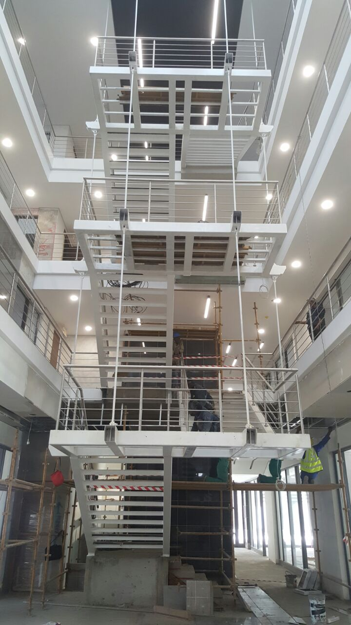Staircase manufactured an installed by us.